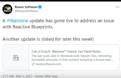 Warzone, Patch 1.33 Details, What's New, Fixes Guide
