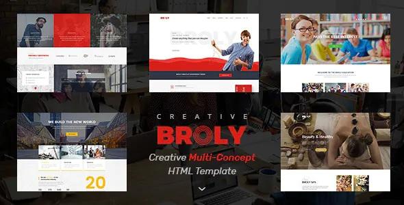 Best Creative Multi-Concept HTML Template