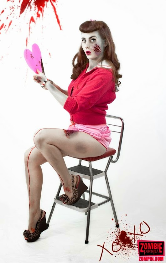 2014 Zombie Pinups Zombie Valentine Photo Contest - See the Entries!