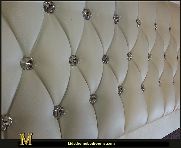 Bedroom Set Leather Headboard