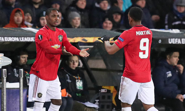 Martial learning well from Ighalo - Ole Gunnar Solskjaer
