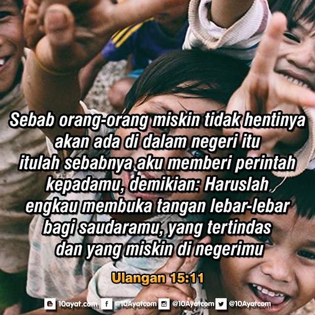 Ulangan 15:11