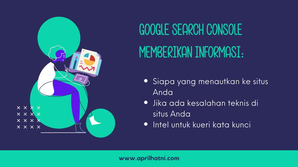 informasi di google search console