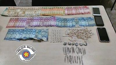 Polícia Militar prende traficantes que atuavam na linha do trem em Registro-sp