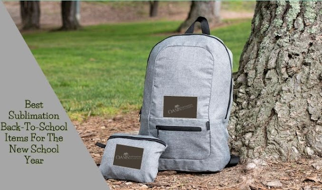 Best Sublimation Back-To-School Items For The New School Year