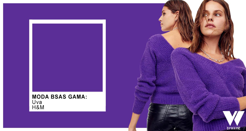 Tejidos de moda otoño invierno 2021. Colores de moda 2021 invierno violeta