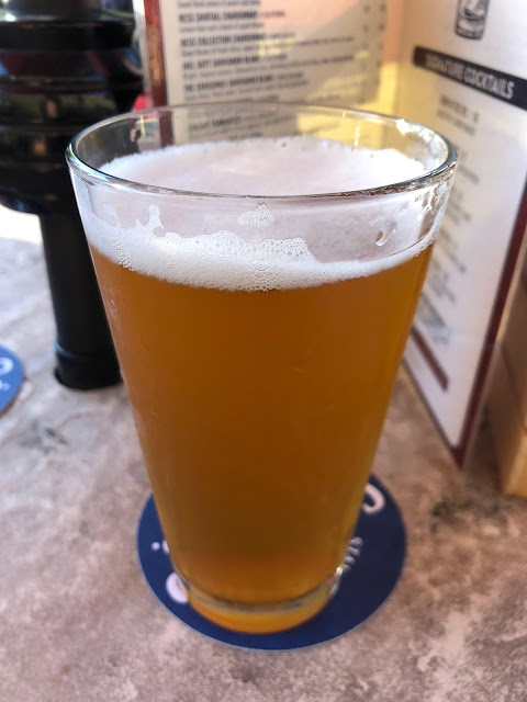 Pint mit Blue Moon Wheat Beer von MillerCoors, Chicago