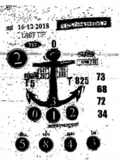 Thai Lottery 2nd Paper Magazines For 16-12-2018