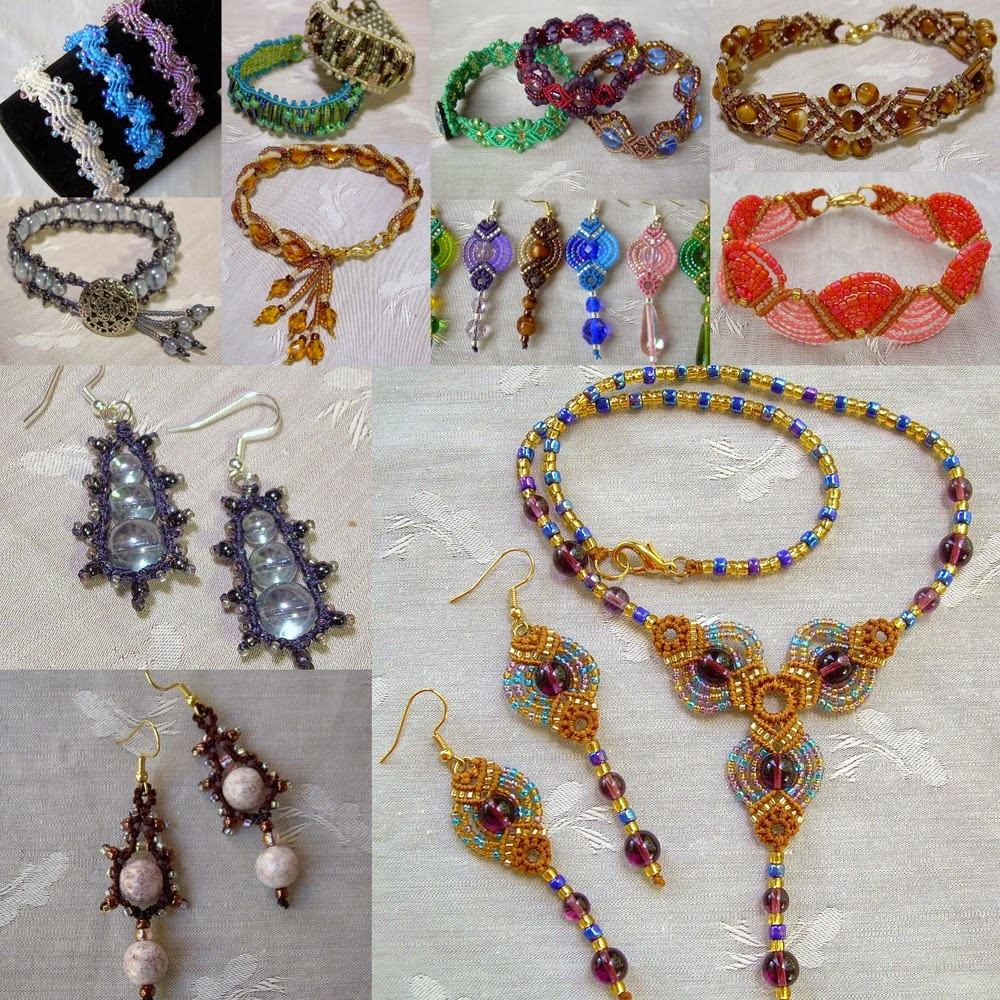Knotgypsy Designs Knotgypsy39s Micro Macrame Jewelry