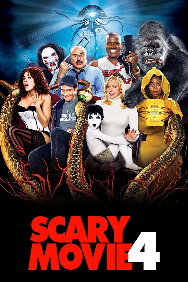 Scary Movie 4 2006 x264 720p Esub BluRay Dual Audio English Hindi THE GOPI SAHI