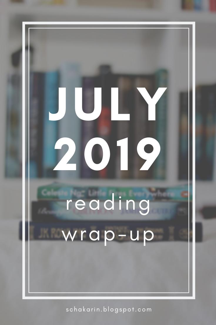 schakarin's July 2019 Reading Wrap-Up