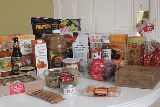 Trader Joe's Fall Seasonal Grocery Haul and Review | Will Bake for Shoes
