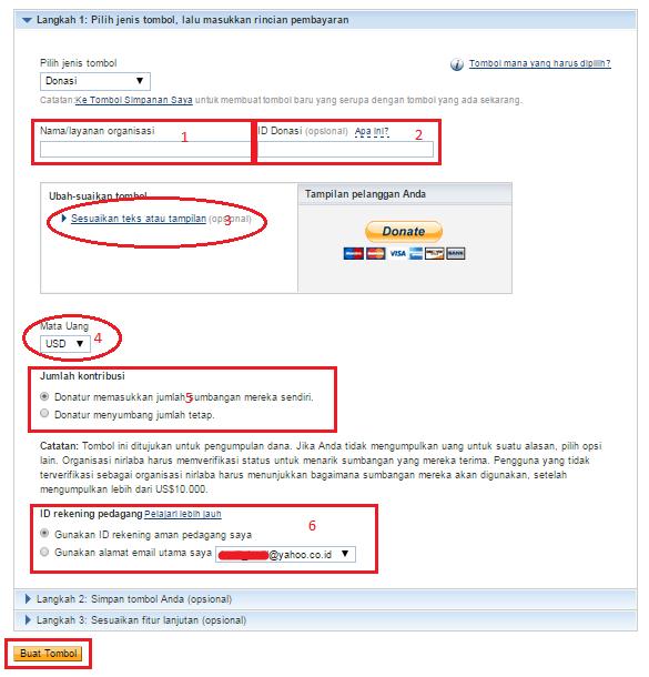 Cara Membuat Tombol PayPal Donasi/Donate di Blog | Zona ...