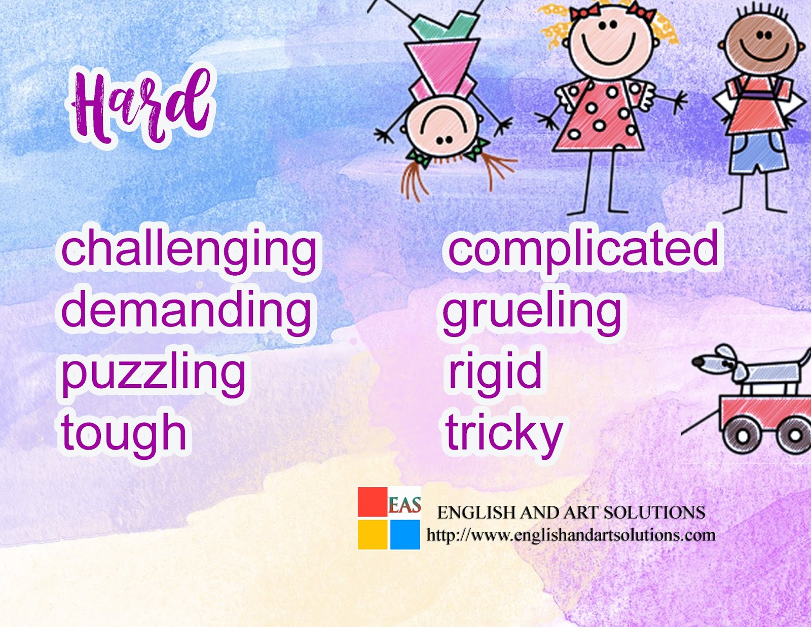 English And Art Solutions Descriptive Words