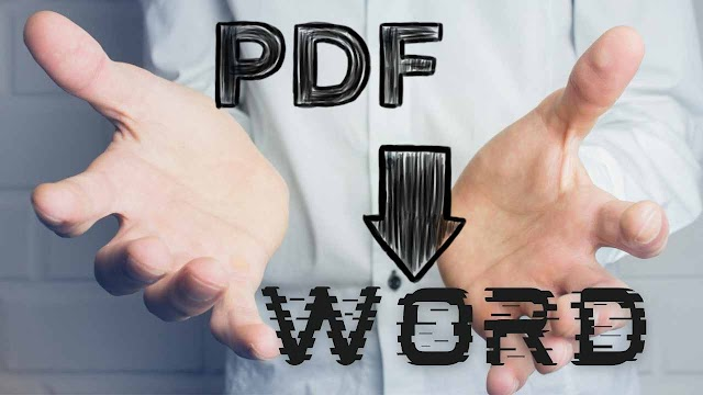 How To Convert PDF to Word Free | True and Scanned PDF