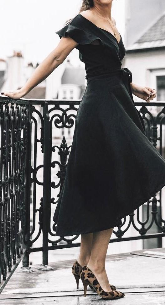 retro style obsessive: dress + heels