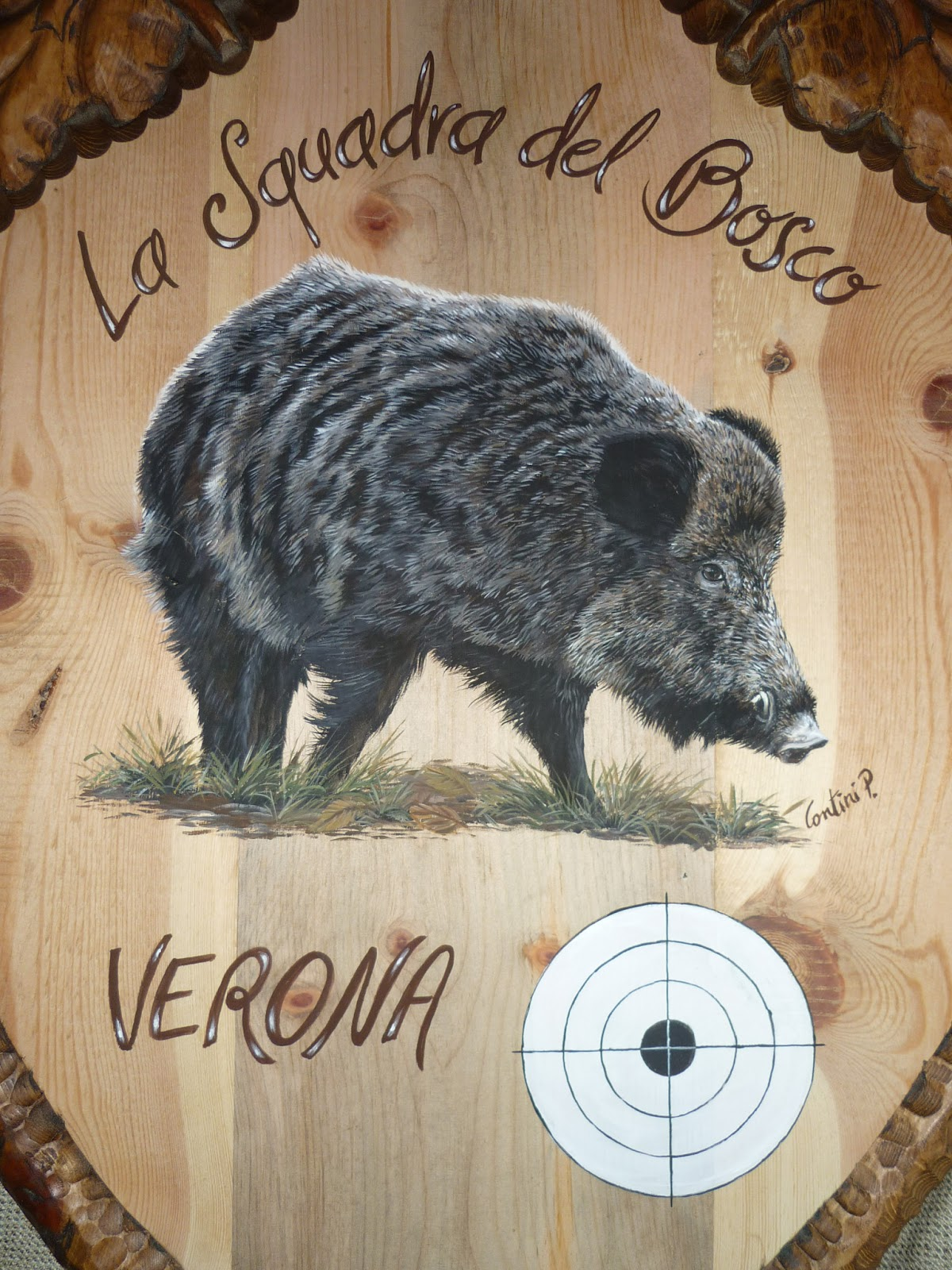 Animali In Regalo Verona Decorarte Scheiben Con Cinghiale