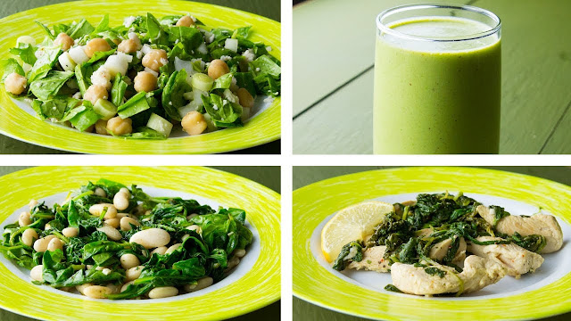 How to make Healthy Spinach Recipes To Lose Weight