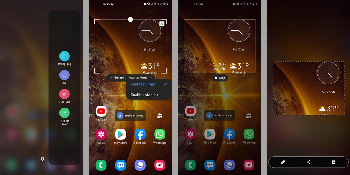 Screenshot GIF (gambar bergerak)