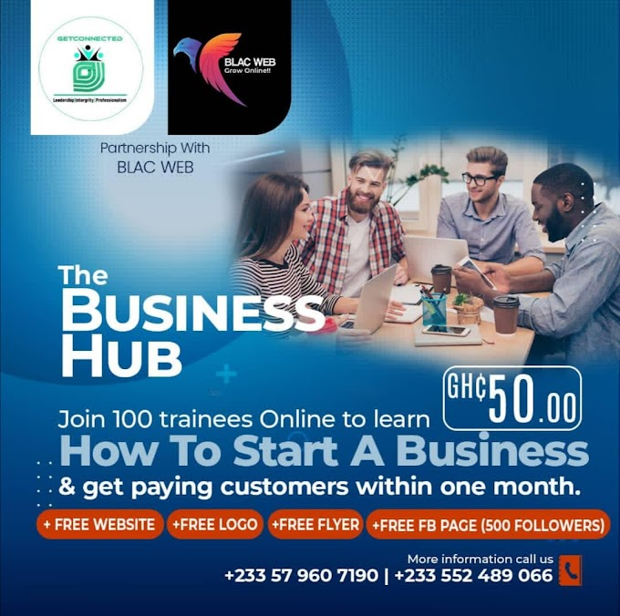 GeT Connected In Partnership With The Blac Web Presents 'The Business Hub'