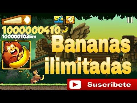 truco bananas ilimitadas banana kong