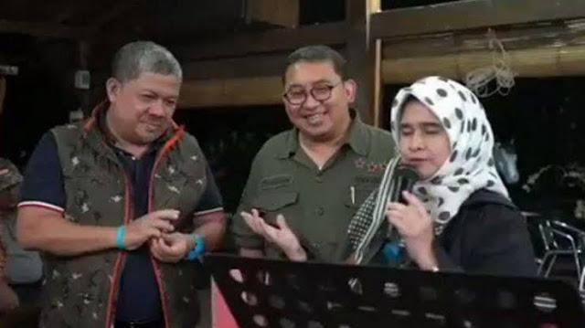 Kelakuan Fadli Zon, Fahri Hamzah dan Neno Warisman Yang Nyanyi Bareng Di Tengah Wabah Corona, Sindir Jokowi?