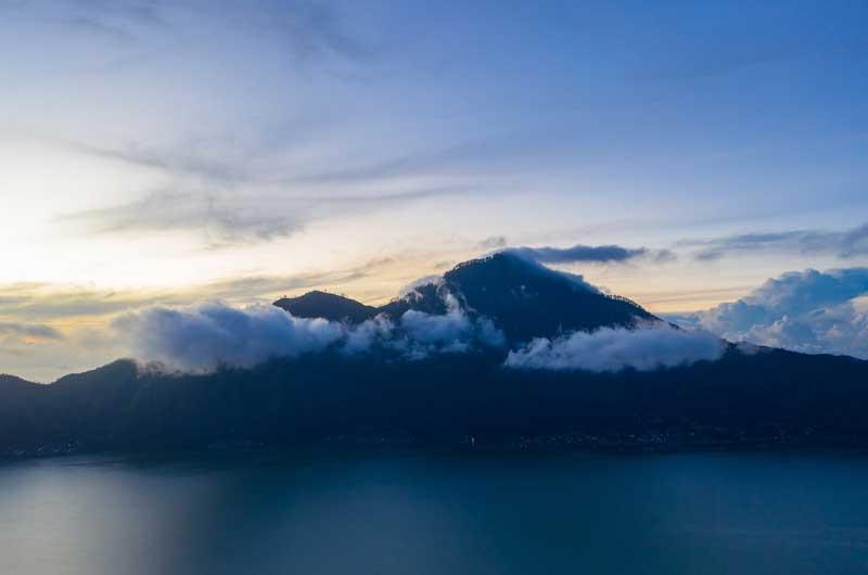 Rute Lokasi Batur Lake Kintamani Bali