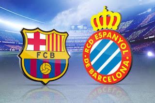 موعد وتوقيت مباراة برشلونة وإسبانيول في الدوري الإسباني