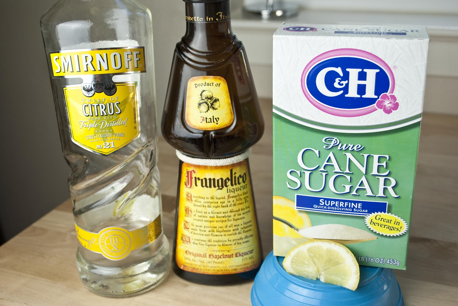 Chocolate Cake Shot Frangelico Citron