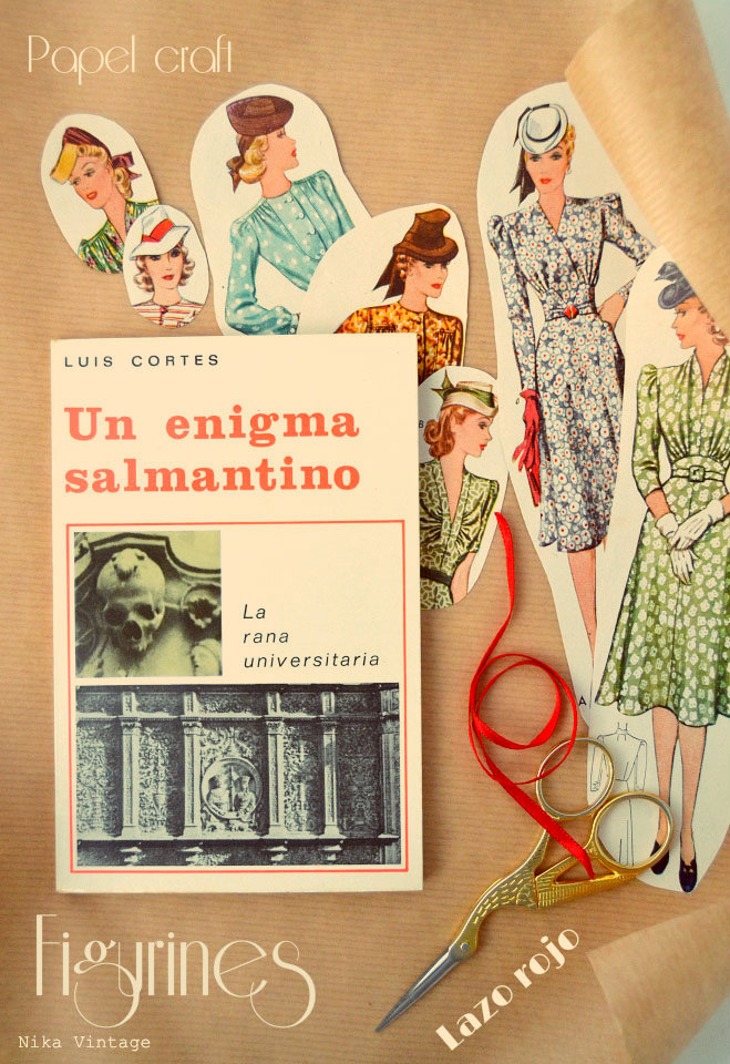 diy, packing, empaquetado, figurin, papel craft, regalo, libro, salamanca, hazlo tu mismo