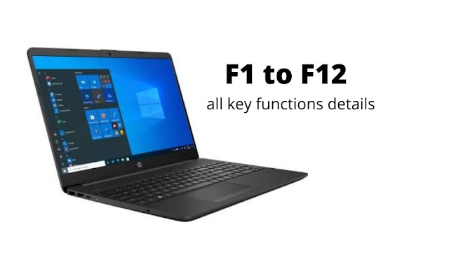 All Function Key F1 to F12 Computer Keyboard