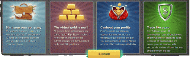 Get Paid To Play PipsTycoon Social Trading game