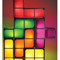 Une lampe Tetris à construire soi-même