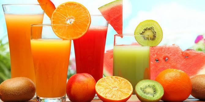resep jus buah di campur sayuran