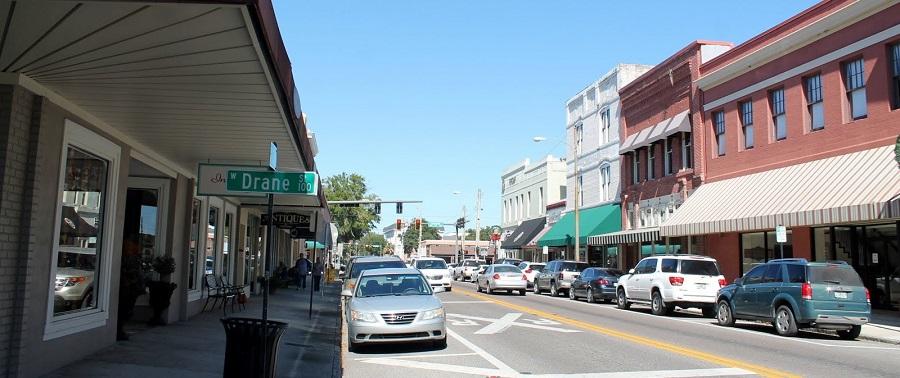 Paseando por el Downtown o centro de Plant City