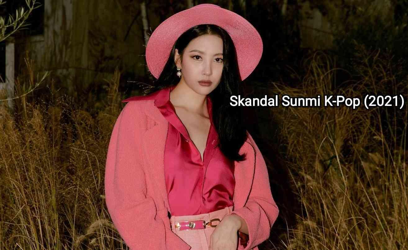 skandal sunmi kpop kasus baru