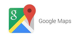 aplikasi google maps membantu kita sebagai penunjuk arah