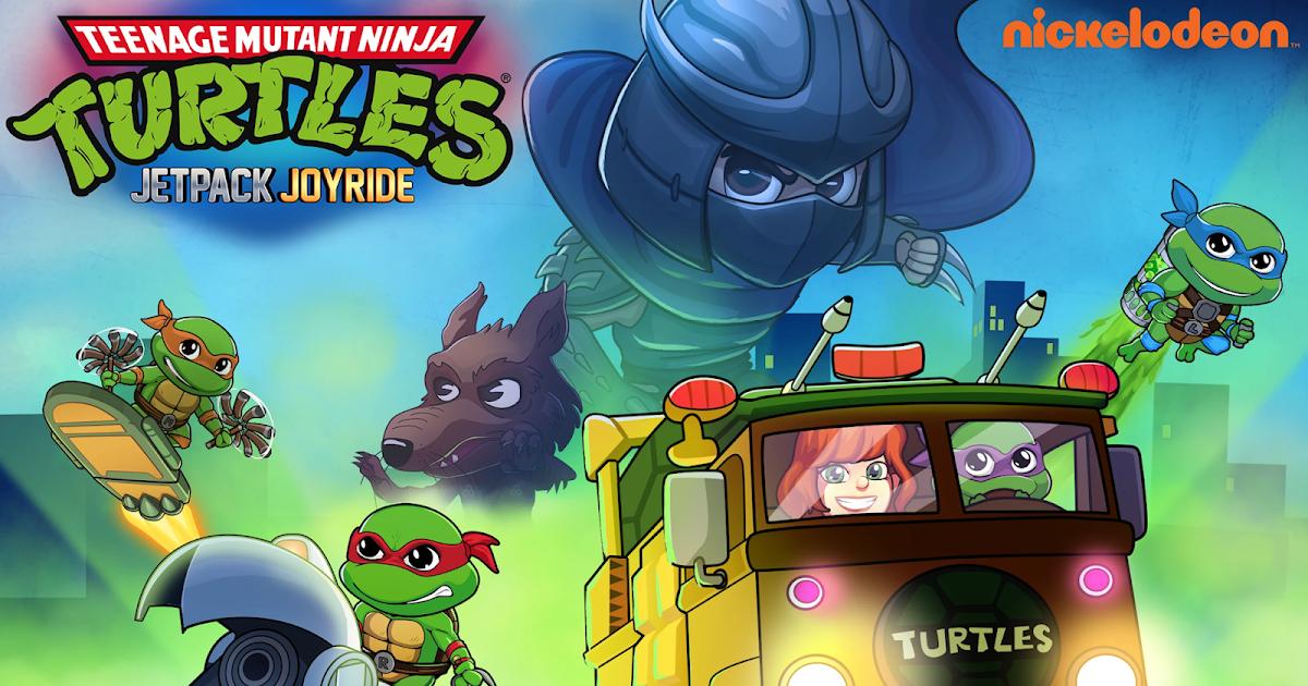 Jetpack Joyride x TMNT: Halfbrick Studios Announces Turtle Powered Crossover Event
