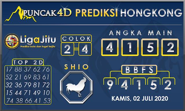 PREDIKSI TOGEL HONGKONG PUNCAK4D 02 JULI 2020