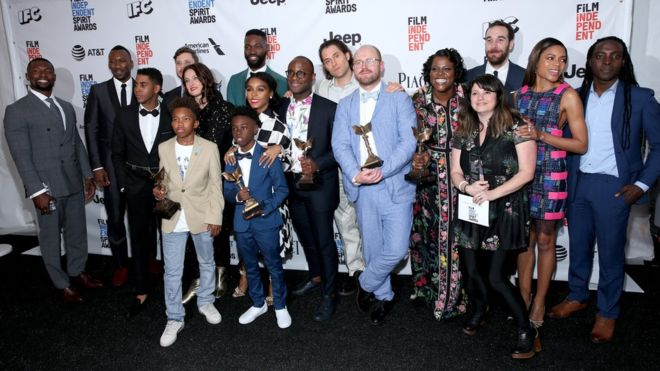 Oscars: Moonlight warms up with Independent Spirit Awards win