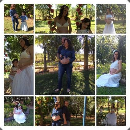 fotos de gravida de 8 meses