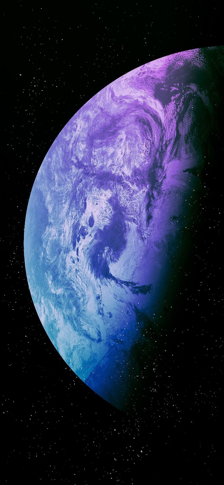 Hành tinh màu sắc hình nền  cho tất cả iPhone
