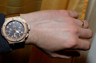 wristshot Hublot Big Bang Cappuccino Gold