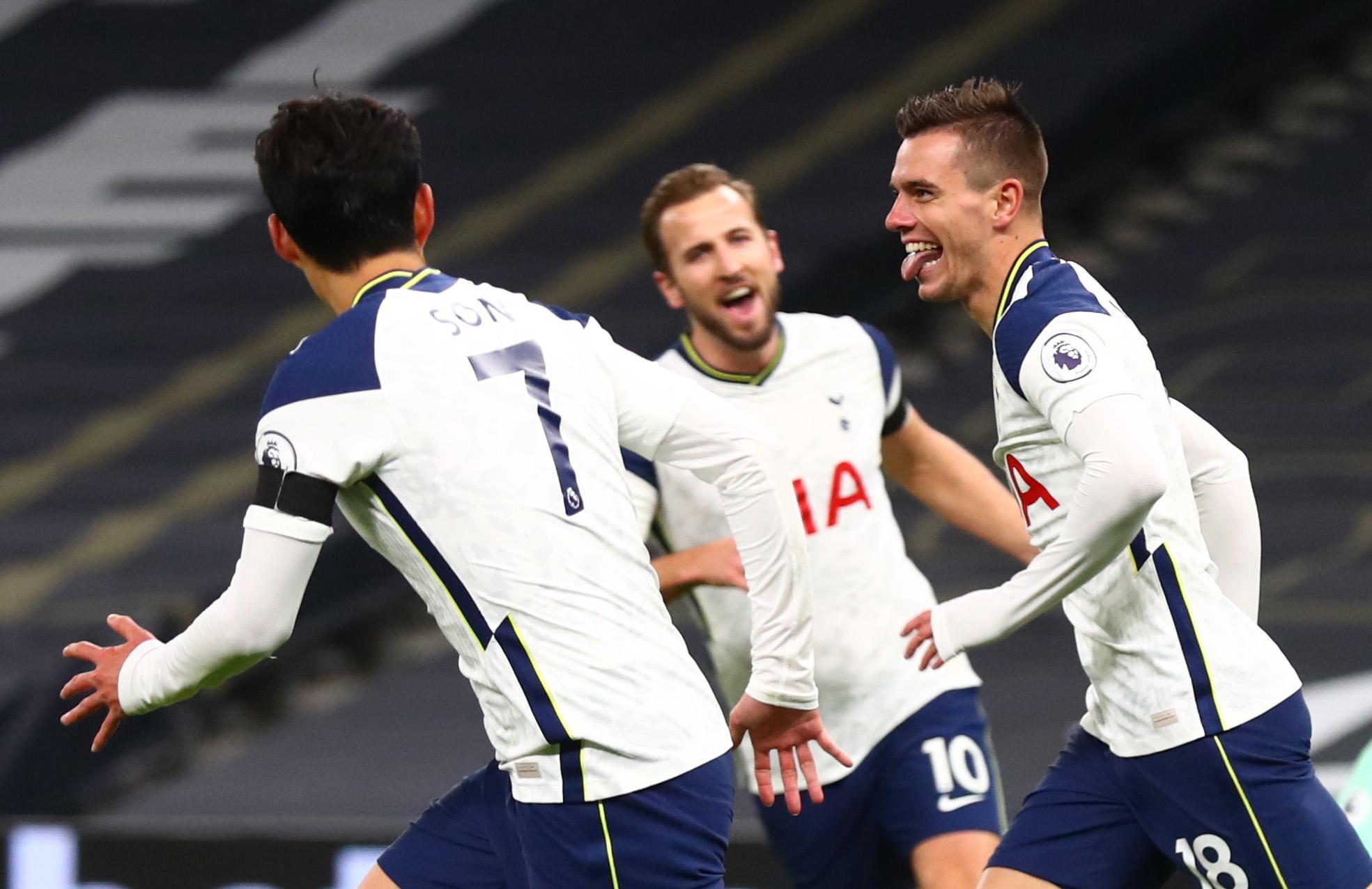 Tottenham 2-0 Manchester City