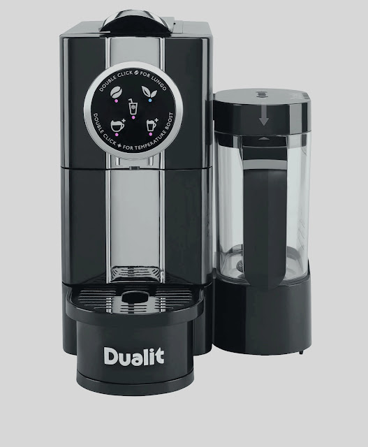 """افضل ماكينة قهوة كبسولات انيقة """"DUALIT CAFÉ CINO"""""""