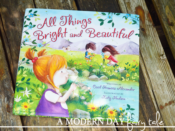 All Things Bright and Beautiful: A Kids Book Review & Giveaway #FlyBy