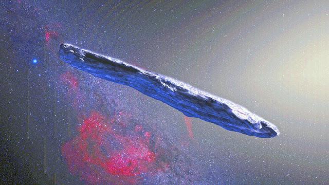 Oumuamua pode ser um iceberg interestelar