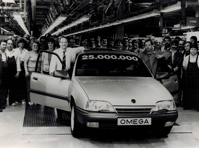 1989 - Opel Omega.