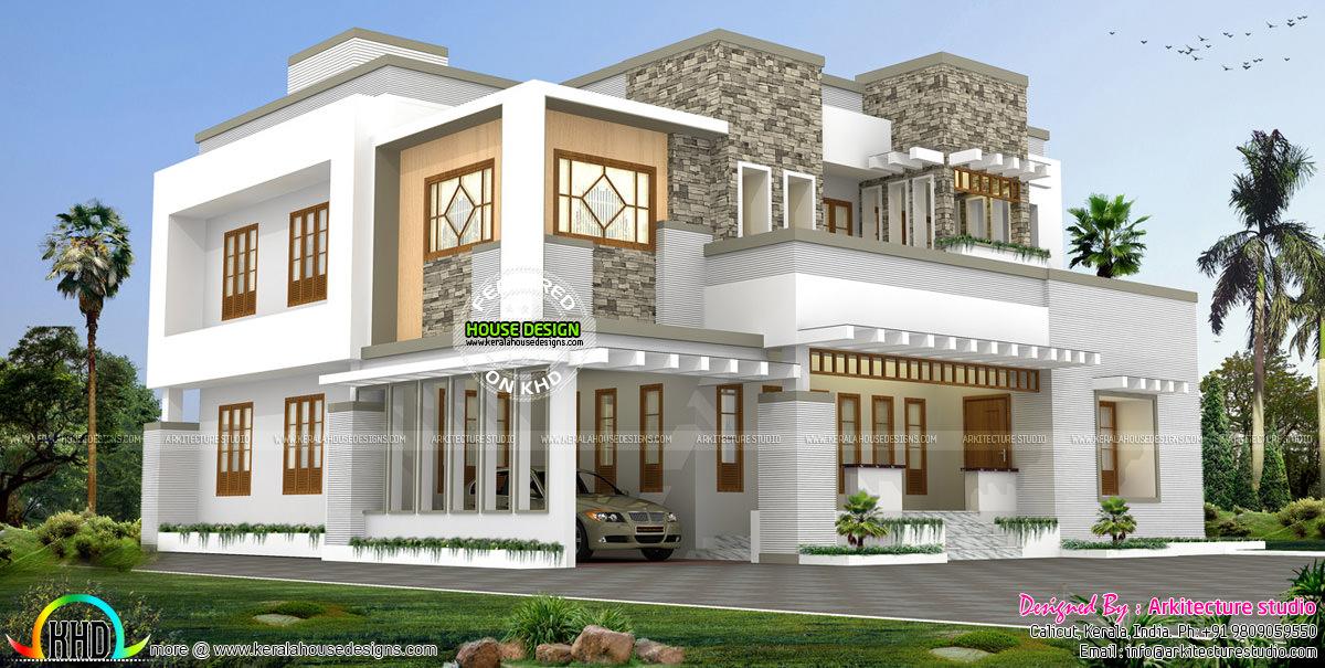 Beautiful Modern Contemporary Kerala Home