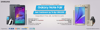 Promo Samsung Galaxy Note Fair